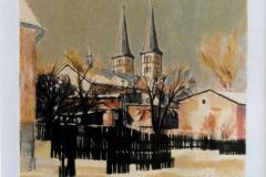 """Jan Nowak """"Kościół św.Wojciecha"""""""
