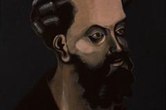 """Antoni Fałat """"Portret gotycki III"""""""