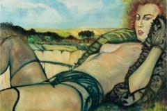 "Jan Westerdijk ""Landscape bythe calcium mine"""