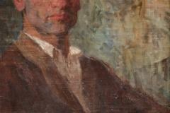 """Olgierd Bierwiaczonek """"XXX"""" (naodwrocie portretu Krysi)"""