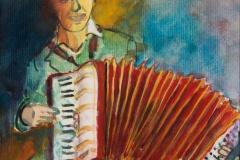 "Piet Snellaars ""Akordeonista"""