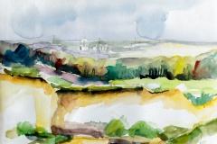 """Piet Snellars """"Landscape calcium mine Mikołów"""""""