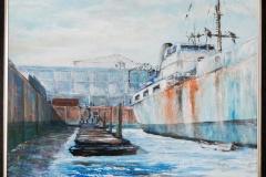 "Robbert Theo Pröpper ""Ship in dock"""